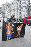 Occupy London protesters Stock Photo