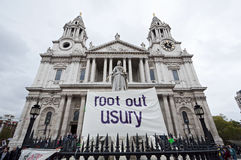 Occupy London protests Stock Photos