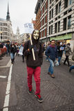 Occupy London Stock Exchange March Stock Photography