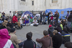 Free Occupy LSX Royalty Free Stock Photos - 21659088