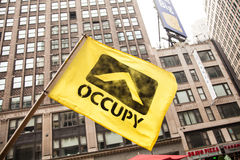 Occupy. New York City protest of Syrian invasion Stock Photography