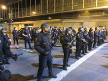 Occupy Oakland Protest Stock Photo