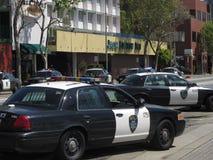 Occupy Oakland Shootout. Police shootout in Oakland California Stock Images