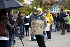Occupy Ottawa Royalty Free Stock Photos