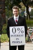 Occupy Ottawa Royalty Free Stock Photo