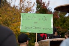Occupy Ottawa Stock Photo