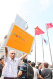 Occupy Protests Spread to Hong Kong Royalty Free Stock Images