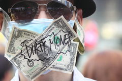 Occupy Protests Spread to Hong Kong Royalty Free Stock Photo