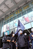 Occupy Protests Spread to Hong Kong Royalty Free Stock Photography