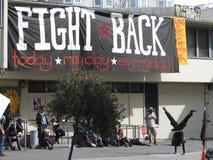 Occupy San Francisco. Occupy protest in San Francisco California Stock Photos
