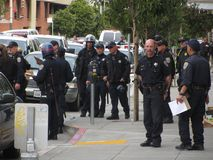 Occupy San Francisco. Occupy protest in San Francisco California Stock Image