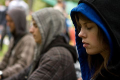 Occupy Toronto Royalty Free Stock Photography