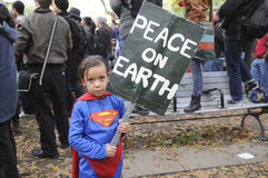Occupy Toronto stock images