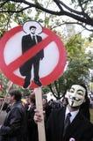 Occupy Toronto Royalty Free Stock Image