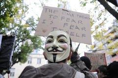 Occupy Toronto Royalty Free Stock Photo