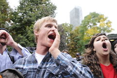 Occupy Toronto Royalty Free Stock Photography