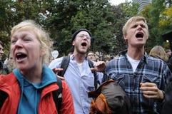 Occupy Toronto Stock Image