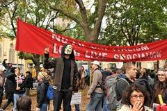Occupy Toronto - Toronto version of Occupy Wall St Royalty Free Stock Photos