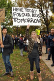 Occupy Toronto - Toronto version of Occupy Wall St Stock Photos