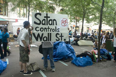 Free Occupy Wall St. Stock Images - 21339894