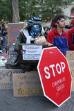 Occupy Wall Street Royalty Free Stock Images