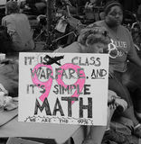 Occupy Wall Street Royalty Free Stock Image