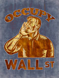 Occupy Wall Street American Worker Stock Photos