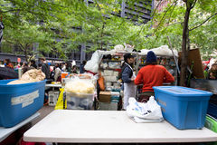 Occupy Wall Street Protest Royalty Free Stock Photo