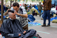 Occupy Wall Street Protest Stock Images