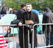Occupy Wall Street Protest Stock Photos