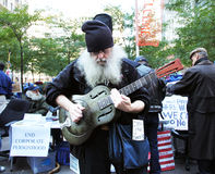 Occupy Wall Street Protest Stock Photo