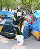 Occupy Wall Street Protest Royalty Free Stock Images