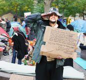Occupy Wall Street Protesters Stock Image