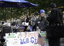Free Occupy Wall Street Protestor Stock Photo - 21662960