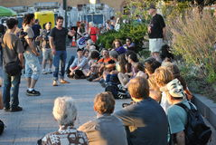 Occupy wallstreet Royalty Free Stock Photos