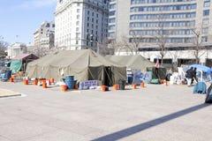 Occupy Washington 2/18/12 Stock Images
