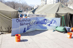 Occupy Washington 2/18/12 Stock Photo