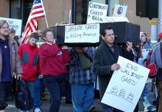 OccupyMN. Protesta Fotografie Stock