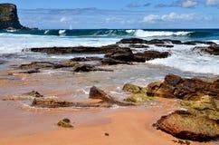 Oceaan in Australië Stock Afbeeldingen