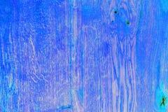 Oceaan blauwe houten zwarte raad Royalty-vrije Stock Fotografie