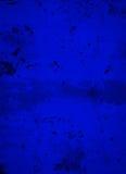 Oceaan Diepe Koningsblauwen Concrete Achtergrond Royalty-vrije Stock Fotografie