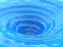Oceaan draaikolk stock illustratie