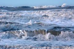 Oceaan en golven Royalty-vrije Stock Foto's