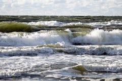 Oceaan en golven Royalty-vrije Stock Afbeelding