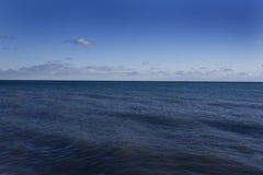 Oceaan en hemel Royalty-vrije Stock Foto