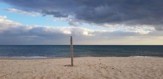 Oceaan en hemel stock fotografie