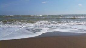Oceaan en overzeese trillingsenergie stock video