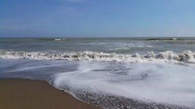 Oceaan en overzeese trillingsenergie stock videobeelden