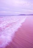 Oceaan Golf in de Avond Royalty-vrije Stock Afbeelding