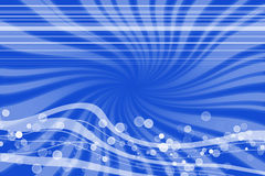 Oceaan golven Vector Illustratie